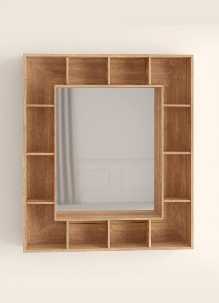 espejos de madera barato en san justo