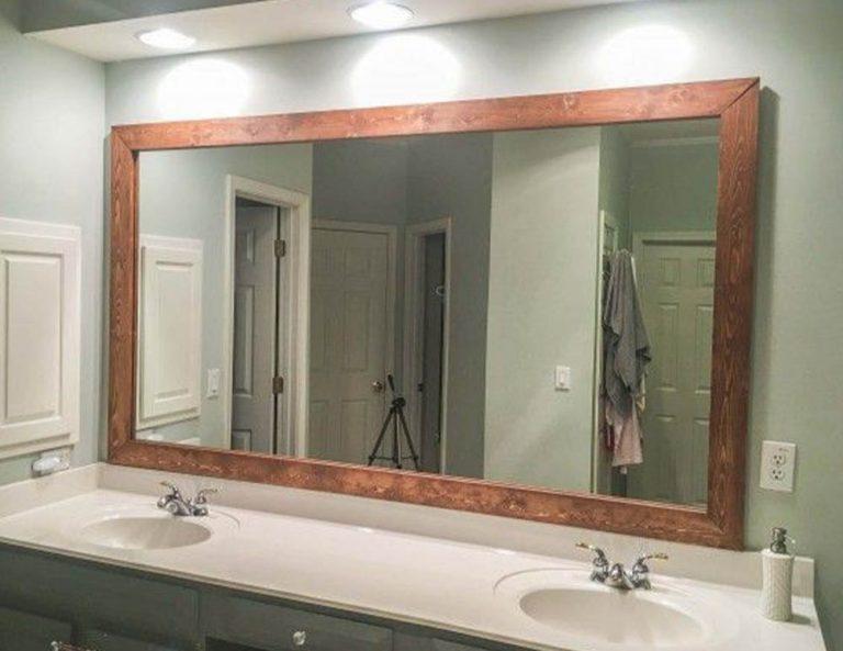espejo para baño grande