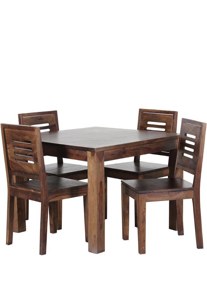 mesa con sillas de madera baratas