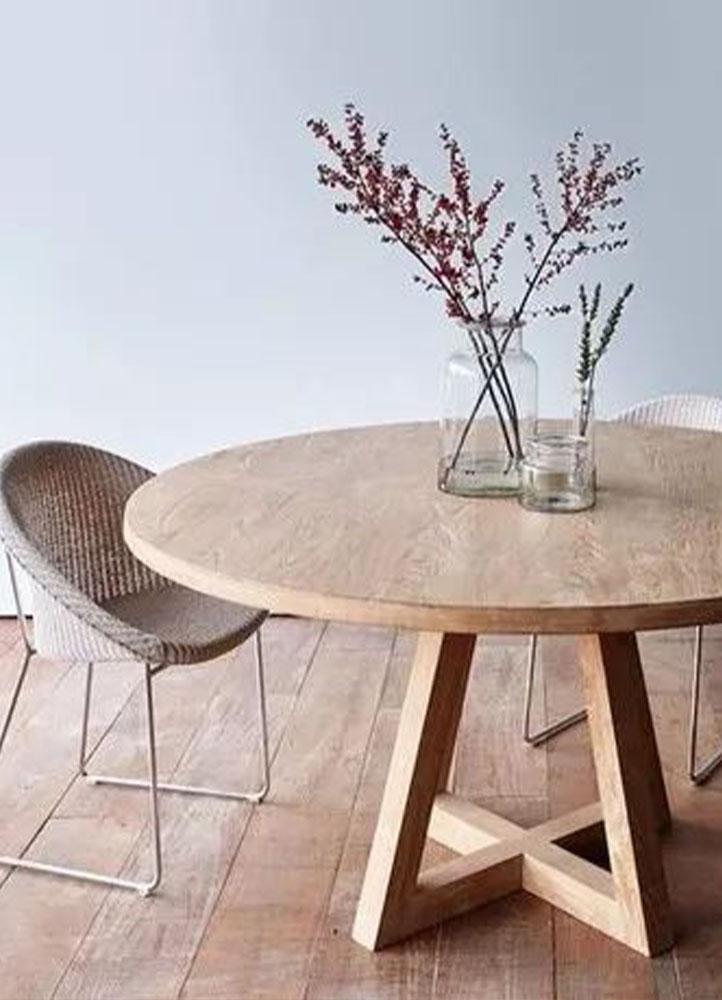 mesa redonda para jardin amoblamientos fabrilis