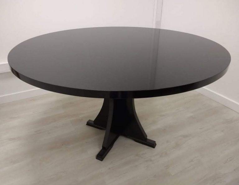 mesa redonda grande de calidad